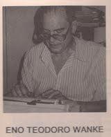 Eno Teodoro Wanke: O grande drama do humorista e que ninguem o leva a serio.