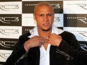 Jogador Roberto Carlos
